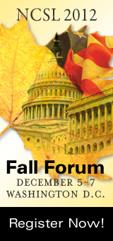 NCSL Fall Forum - register now