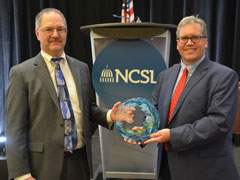 David Teal Honored With NCSL's Steven Gold Award