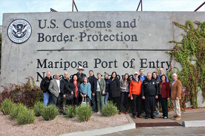 NCSL Immigration Task Force Tours U.S.-Mexico Border