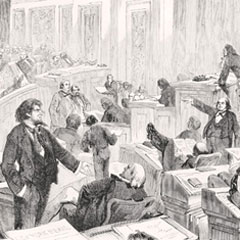 'Building Democracy': The Evolution of State Legislatures in the 1800s: Expansion, Conflict and Reconciliation