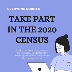 Only Five Weeks to Go ... for the 2020 Census!