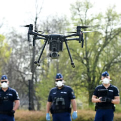 Drones Aiding Fight Against COVID-19