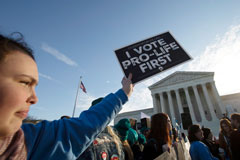 SCOTUS Hears First Abortion Case Since Kennedy's Departure