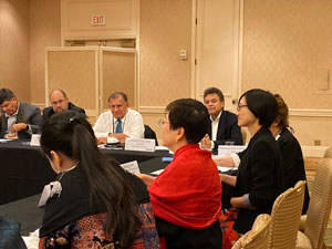 International Relations Task Force Addresses Common Issues