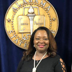 Jackie Osborne, chief fiscal officer for Alabama State Senate
