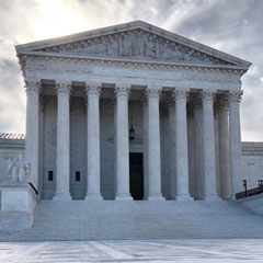 Supreme Court Photo credit: Mark Sherman/AP via National Public Radio