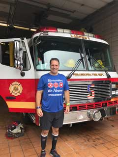 NCSL Foundation Board Member Goes Extra Mile Remembering 9/11