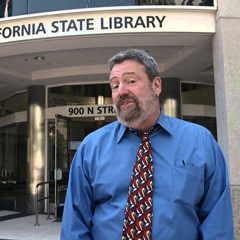 California state librarian Greg Lucas