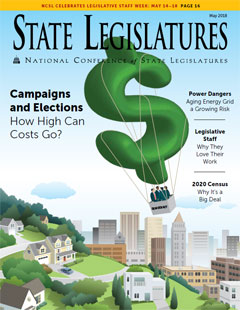 State Legislatures Magazine: Money and Campaigns