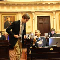 A New Chapter in Page Programs: The Senate of Virginia's Page Leadership Program