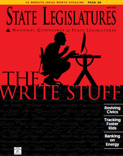 April Issue of State Legislatures: Lawmakers Turned Authors