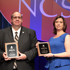 Jennifer Jones, John Snyder Honored With Legislative Staff Achievement Awards