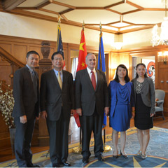 NCSL Welcomes Chinese Delegates to Minneapolis