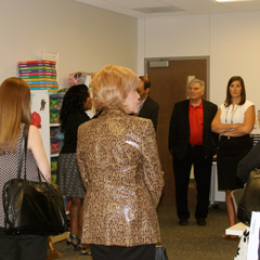 Early Learning Fellows enjoy a tour of the Learning Community Center of North Omaha.