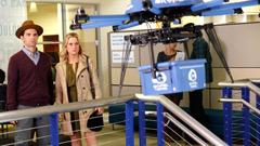Drone on Parks and Rec - photo credit NBC