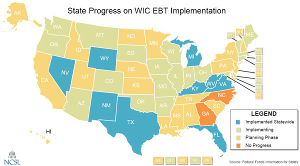 States Face Deadline for EBT Cards for WIC Recipients