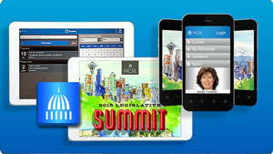 Download the NCSL App for Complete Summit Information