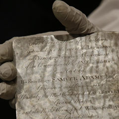 Massachusetts State House Time Capsule Yields Delights