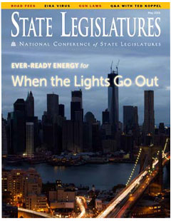 State Legislatures Magazine: Keeping the Lights On During Electrical Grid Disasters