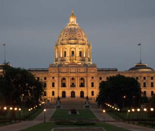 Minnesota State Capitol/Photo by Edward Crim
