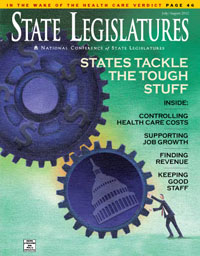 July/August 2012 State Legislatures cover