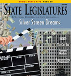 June  2013 State Legislatures cover
