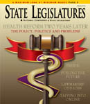 March 2012 State Legislatures cover