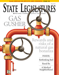 State Legislatures May  2012 cover