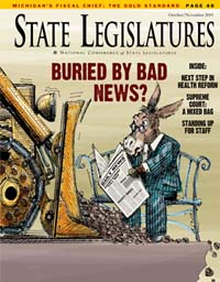 State Legislatures September 2010 cover