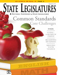 State Legislatures September 2012 cover