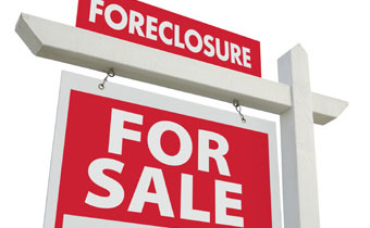 Foreclosure sign