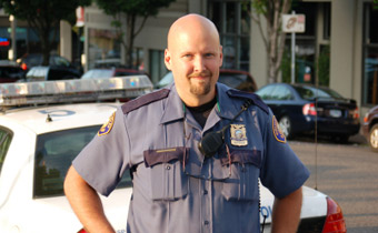 Photo of a policeman