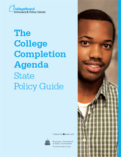 Publication Cover:  The College Completion Agenda
