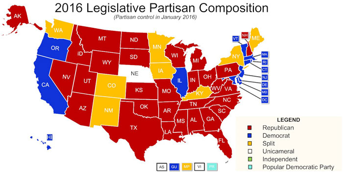 State Partisan Position