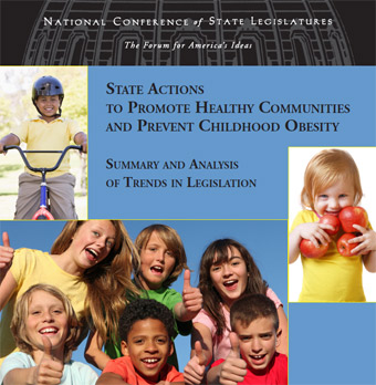 Cover of State Actions to Promote Healthy Communities and Prevent Childhood Obesity