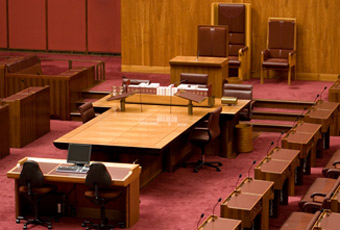 Photo of legislative chamber