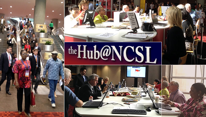 Attendees at NCSL