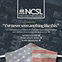 Cover of the May/June 2020 issue of NCSL's State Legislatures magazine.