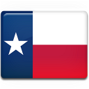 A graphic representing the flag for the state of Texas