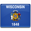 Picture of Wisconsin State Flag