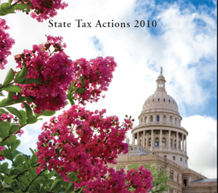 Cover of State Tax Actions 2010 publication