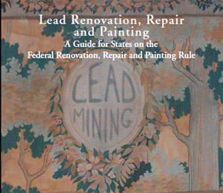 Cover of publication: Lead Renovation, Repair and Painting