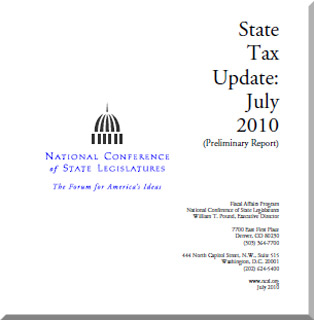 Cover:  State Tax Update:  July 2010