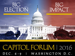 2016 NCSL Capitol Forum, Dec. 6-9