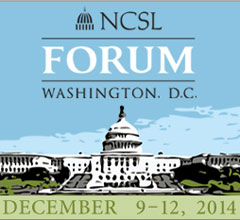 Logo for the 2014 NCSL Forum