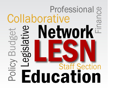 Word cloud for LESN