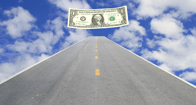 road and dollar
