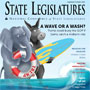 September/October 2018 cover of State Legislatures magazine