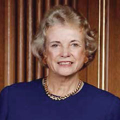 Retired U.S. Supreme Court Justice Sandra Day O'Connor