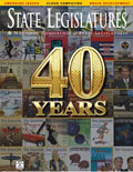 January 2014 cover of State Legislatures magazine